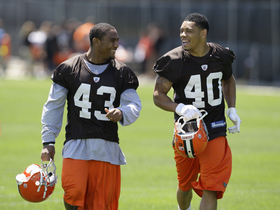 Watch: Josh Cribbs: T.J. Ward and Joe Haden had a dance off in Browns 2011 training camp