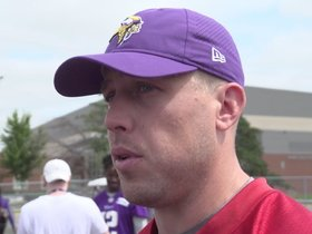 Watch: Keenum: Need To Apply Offensive Knowledge Quickly