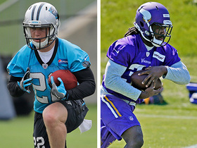Watch: Who is the rookie RB to watch in training camp?