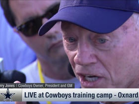 Watch: Jerry Jones emphatically defends decision to release Lucky Whitehead