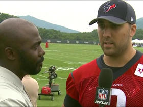 Watch: Savage: 'It's a tremendous opportunity' to begin camp as starter