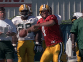 Watch: Vintage Training Camp Wire: Brett Favre in 1998