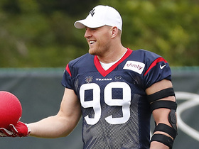 Watch: Watt wasn't rushed back onto the field, returns to Pro-Bowl form