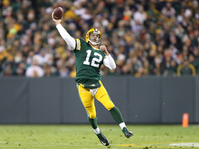 Watch: Aaron Rodgers' six TD passes in the first half against the Bears in 2014
