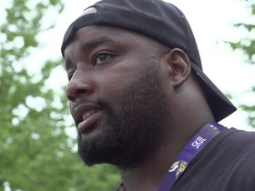 Watch: Jones on Packer-To-Viking Transition, ESPY's Trip