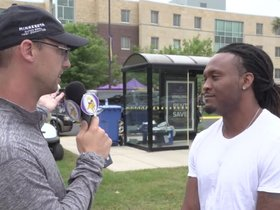 Watch: Move-In Day 1-on-1: Jarius Wright