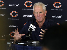 Watch: Fox: 'I feel as good about this camp as I've ever felt as a Chicago Bear'