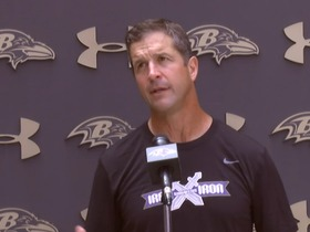 Watch: John Harbaugh: I do believe Colin Kaepernick will play this year