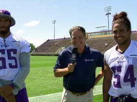 Watch: Anthony Barr: Everson Griffen's contract extension is well deserved