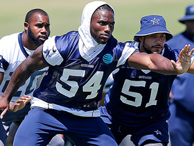 Watch: Slater: Jaylon Smith attends first practice in 572 days