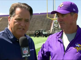 Watch: Mike Zimmer: 'I look forward to being a lot better'
