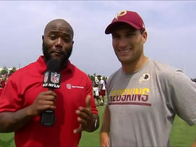 Watch: Kirk Cousins: I'm content that I'm here for the next 16 games