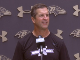Watch: John Harbaugh speaks on John Urschel's retirement