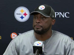 Watch: Tomlin on Bell: I'm going to focus on the guys that are here