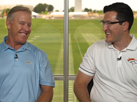 Watch: 1-on-1 with Elway on new title, QB battle