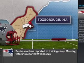 Watch: Patriots offense finding its rhythm in practice