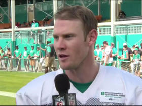 Watch: Ryan Tannehill: Knee recovery isn't even a thought anymore