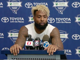 Watch: Odell Beckham: Players in the NFL need to be paid similar to NBA players