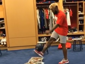 Watch: OBJ shows off soccer juggling skills