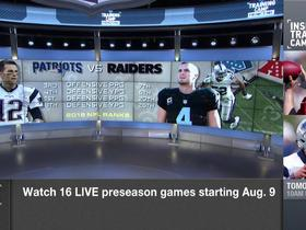 Watch: How close are the Oakland Raiders to the New England Patriots?