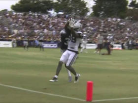 Dez Bryant makes TD catch at training camp