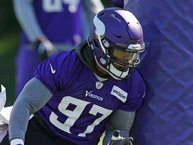 Everson Griffen wired at training camp