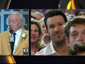 Jones on Romo: No QB in team history carried a heavier load