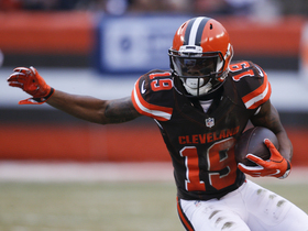 Steve Wyche: Browns not settled on the play of their receivers