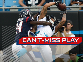Watch: Can't-Miss Play: Benjamin makes leaping TD catch