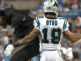 Watch: Joe Webb connects with Damiere Byrd for a 50-yard touchdown