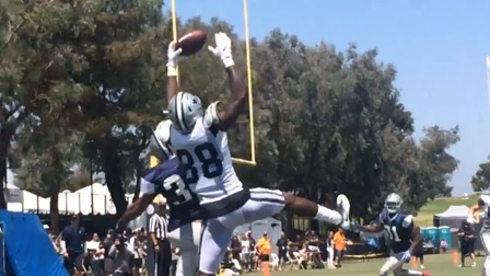 Dez Bryant Makes Incredible One Handed Catch Over Orlando