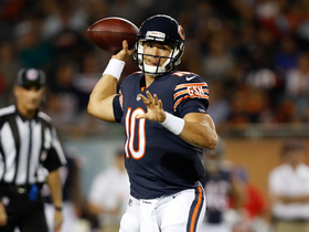 Watch: Mitchell Trubisky throws first NFL TD pass
