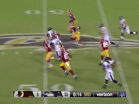 Watch: Former college QB Keenan Reynolds returns punt for big gain
