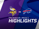 Watch: Vikings vs. Bills highlights | Preseason Week 1