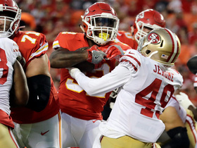 Watch: Spencer Ware trucks into the end zone for a touchdown