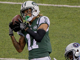 Watch: Josh McCown unloads CANNON to Robby Anderson for 53 yards