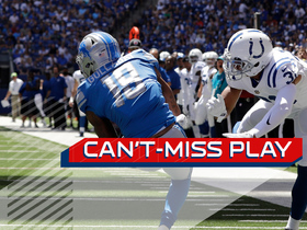 Watch: Can't-Miss Play: Golladay makes falling touchdown catch