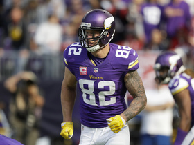 Watch: Kyle Rudolph: Vikings want to bring the first Super Bowl home to Minnesota