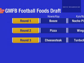 Watch: GMFB drafts best football foods with Howie Roseman