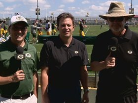 Watch: Three Things: Rodgers & Capers, K Crosby, the silent count