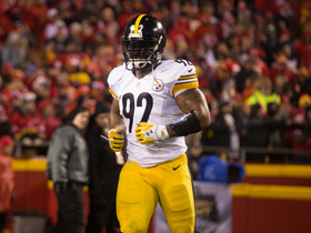 Is James Harrison fine with losing his starting job to T.J. Watt?