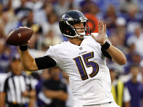 Watch: Which Ravens QB will step up in Preseason Week 2?