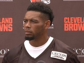 Watch: Joe Haden: I haven't felt this good in a while