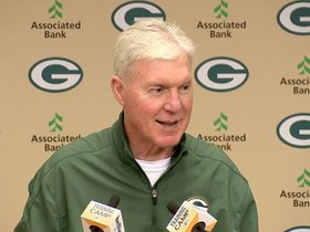 Watch: Ted Thomspon talks competition in camp