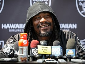 Watch: RB Marshawn Lynch On Recent Community Projects And Getting Back To His Playing Ability