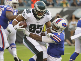 Watch: Mychal Kendricks intercepts Tyrod Taylor's deflected pass