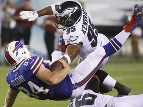 Watch: Mychal Kendricks makes tackle for a loss of 5 yards