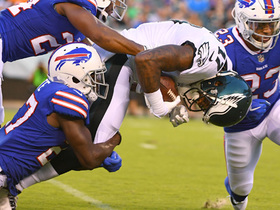 Watch: Alshon Jeffery makes first reception as a Philadelphia Eagle