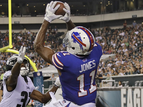 Watch: Zay Jones makes impressive leaping back shoulder catch