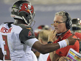 Watch: Dirk Koetter scolds Jameis Winston on sideline after being sacked